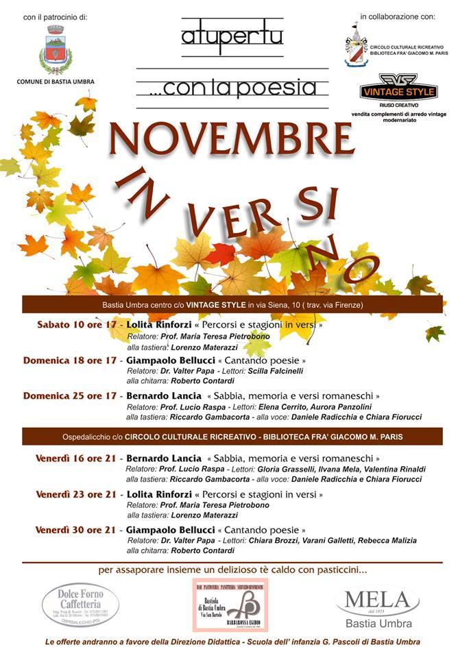 Novembre in versi