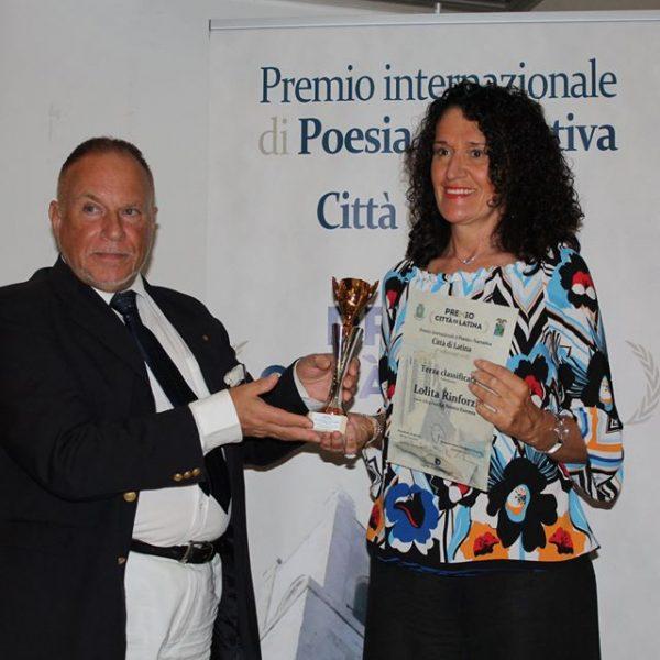 Premio Internazionale di Poesia Città di Latina Sez.Videopoesia La nostra essenza 3° classificato 9-2018