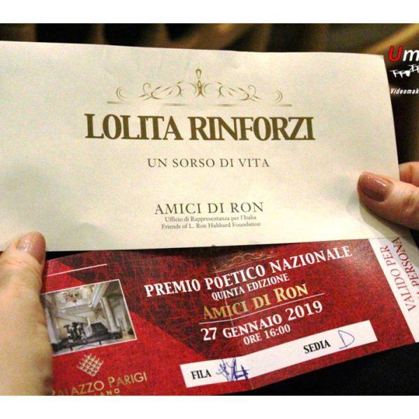 Premio poetico naz. Amici di Ron Milano 01-2019